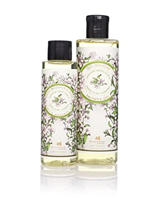 Panier des Sens Energizing Verbena Shower Gel and Massage Oil, Set of 2
