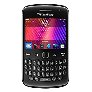 Blackberry Curve 9370 Unlocked Phone Verizon CDMA + GSM with OS 7, 5MP Camera, GPS and Wi-Fi - Black