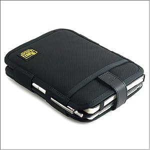 バンナイズ iPad mini ( アイパッド ) 用 と モレスキン A5ノート メモ など が 同時 に 入る iPad mini ( アイパッド ) 用 薄型 キャリング ケース / 縦型 ( バリスティック ナイロン製 / ブラック )