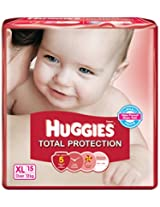 Huggies Total Protection Extra Large Diapers (15 Count)