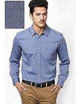 Navy Blue Casual Shirt