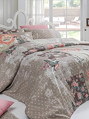 Colors Couture Bettdecke und Kissenbezug Spring