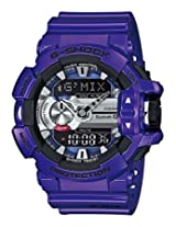 Casio G-Shock Bluetooth Analog-Digital Blue Dial Men's Watch - GBA-400-2ADR (G558)