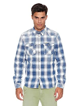 Pepe Jeans London Camisa Ruction (Azul)