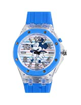 Mickey Mouse Kids Analog LED Watch - Blue