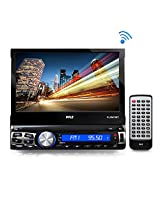 Pyle PLRM70BT 7-Inch Bluetooth In-Dash Headunit Receiver, Wireless Streaming, Micro SD/USB Flash Readers and Touch Screen