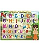 Incynk Chhota Bheem Alphabet With Object Puzzle