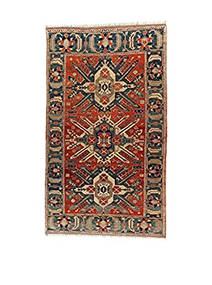 L'Eden del Tappeto Teppich Elvan rot/mehrfarbig 317t x t186 cm