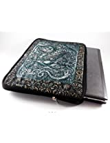 Devarshy Digital Print 17 Inch Computer Quilted Laptop Pouches With Limited Edition - Beautiful Woman Figure Engravings