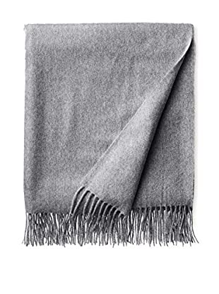 Amicale Cashmere Throw, Gray