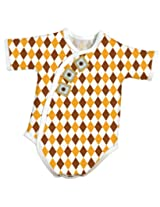 Stephan Baby All-in-One Diaper Cover, Preemie Argyle Print