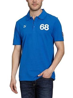 Puma Polo T-Shirt Football Archives T7 (team power blue-figc)