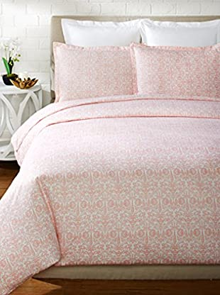 Mélange Home 400 Thread Count 100% Cotton Lotus Duvet Set