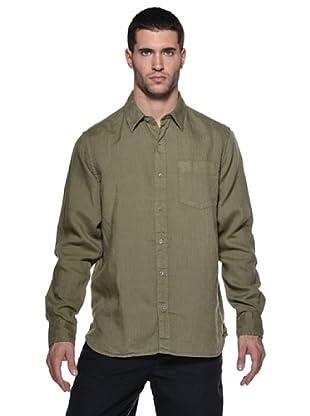 Timberland Camisa M/L (Verde)