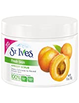 St. Ives Fresh Skin Exfoliating Apricot Scrub, 283ml, 10 fl.oz. (Pack of 3)