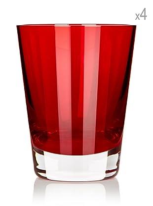 Villeroy & Boch Glas Colour Concept 4 Stk. (rot)