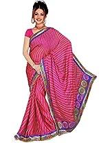 Kala Sanskruti Art Silk Saree (KSA3X-49_Pink)