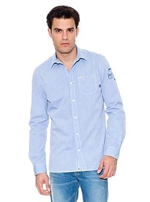 Pepe Jeans London Camisa Stanton (Azul)