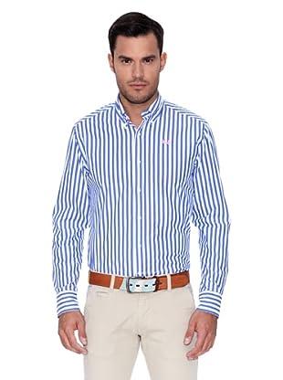 La Martina Camisa Wendell (Azul / Blanco)