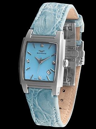 Sandoz 81240-03 - Reloj St. Thomas con diamantes en el dial
