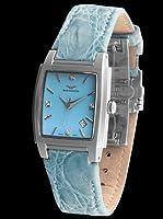Sandoz 81240-03 - Reloj St, Thomas Con Diamantes Dial Azul