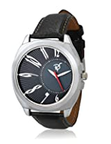Rico Sordi Mens Black Leather Watch