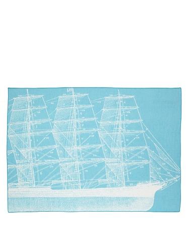 Thomas Paul Maritime Throw (Aqua)