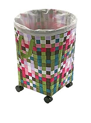 Zings Wäschekorb mehrfarbig