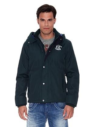 Pepe Jeans London Abrigo Scott (Verde Oscuro)
