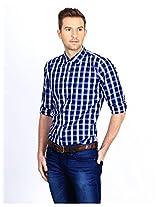 Casual Cotton Collar Neck Shirt