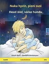 Nuku hyvin, pieni susi - Head ööd, väike hundu. Kaksikielinen satukirja (suomi - viro) (www.childrens-books-bilingual.com)