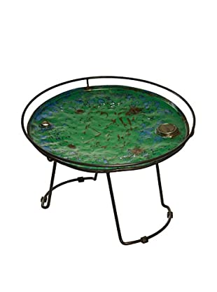 Foreign Affairs Round Recycled Oil Drum Table