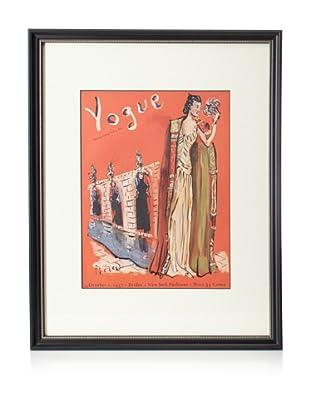 Original Vogue Cover from 1937 by Rivas