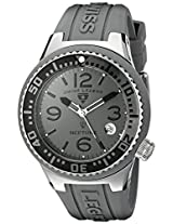 Swiss Legend Watches, Neptune (44 mm) Grey Dial Grey Silicone, Model 11044P-014-GRYB