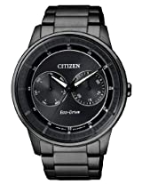 Citizen Eco-Drive Analog Grey Dial Men's Watch - BU4005-56H