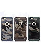Stylish Shock Proof Military Camouflage Back Case Cover for Apple Iphone 6 and Iphone 6S