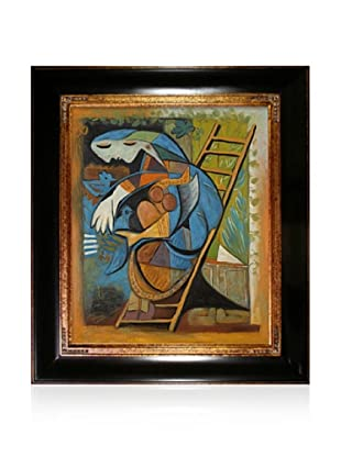 Pablo Picasso Farmers Wife on a Stepladder, 20 x24
