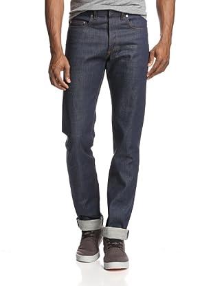 Dior Men's Slim Fit Jeans (Blue)