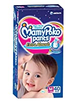 Mamy Poko Medium Size Baby Diapers (40 Count)