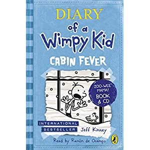 Diary of a Wimpy Kid: Cabin Fever (with CD)