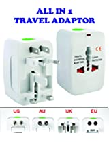 DFS's original UNIVERSAL INTERNATIONAL TRAVEL ADAPTOR PLUG -- SURGE PROTECTOR + 6 months warranty (Europe / UK / US / China ..)