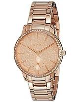 ESPRIT Analog Rose Gold Dial Women's Watch - ES108112009