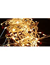 Blackberry Overseas Yellow Colored Decorative RICE LED Lights, 15 metre Long