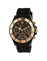 Maxima Hybrid Collection Analog Black Dial Men's Watch - 31331PPGN