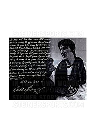 Steiner Sports Memorabilia Mike Bossy 50/50 Puck Signed Story Photo