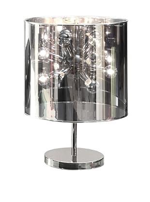 Zuo Supernova 12-Light Table Lamp, Chrome