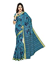 Suhanee Cotton Saree (Suhagan - 1003 _Blue)