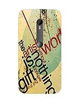 GripIt The Artist Case for Motorola MotoG 3rd Gen