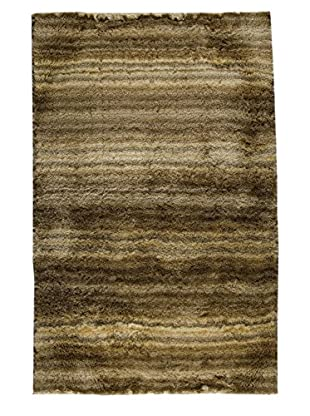 MAT The Basics Delhi Rug, Beige/Brown, 5' x 8'