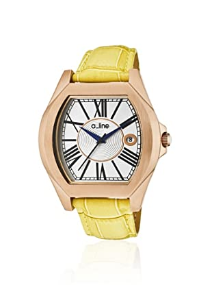 a_line Women's 80008-RG-02-YL Adore Yellow Leather Watch